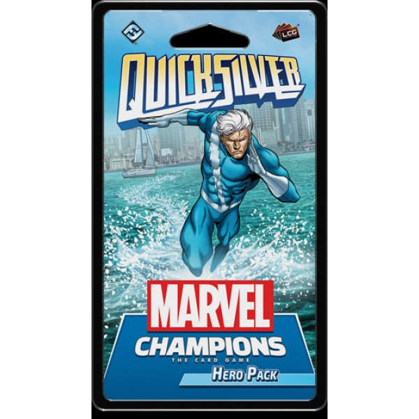 MARVEL CHAMPIONS: THE CARD GAME - QUICKSILVER - HERO PACK