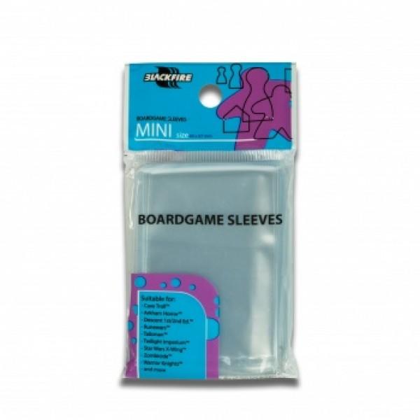 BOARDGAME SLEEVES - (44X67MM) - 100X - MINI USA
