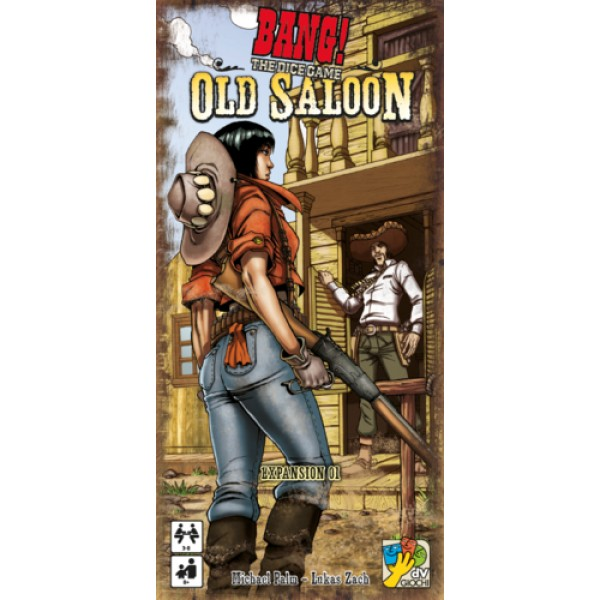 BANG! THE DICE GAME – OLD SALOON