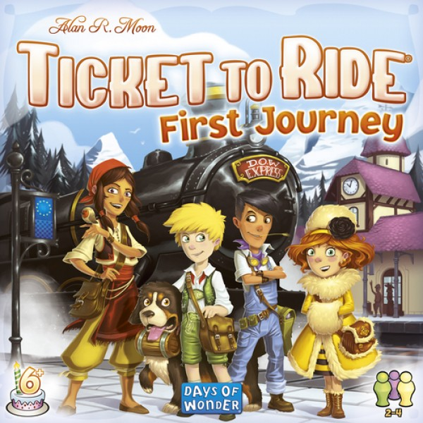 TICKET TO RIDE  - FIRST JOURNEY - EUROPE