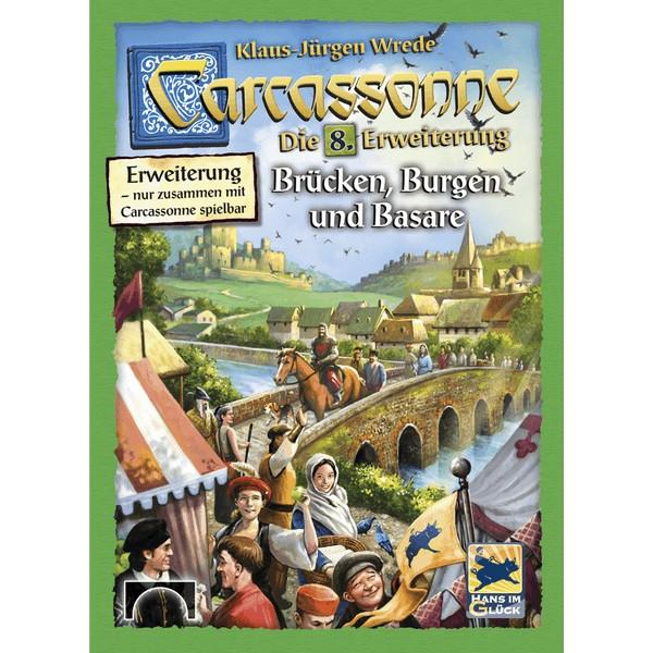CARCASSONNE: EXPANSION 6 - BRIDGES, CASTLES AND BAZAARS - 2 EDICIJA
