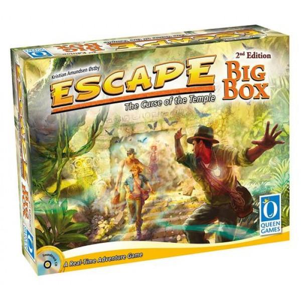 ESCAPE: THE CURSE OF THE TEMPLE - BIG BOX - 2nd EDITION