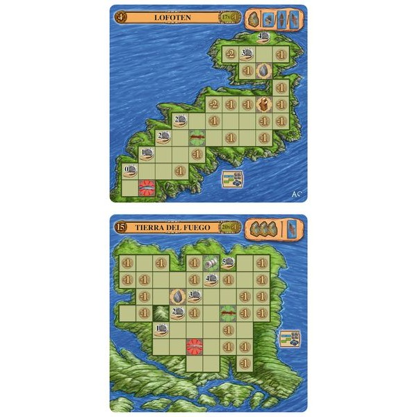 A FEAST FOR ODIN - MINI EXPANSION - 2 ISLANDS