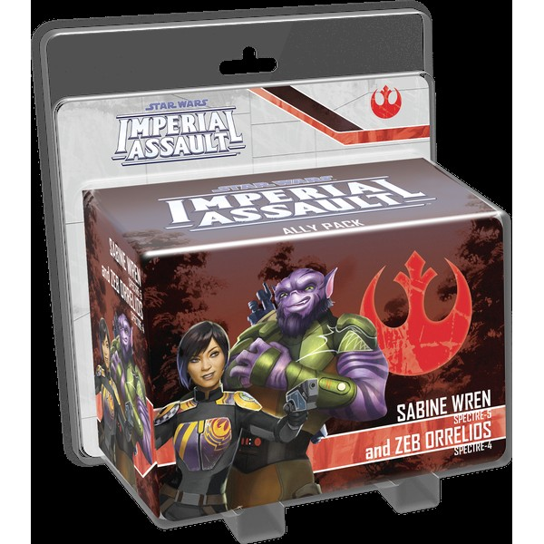 STAR WARS: IMPERIAL ASSAULT - SABINE WREN AND ZEB ORRELIOS ALLY PACK