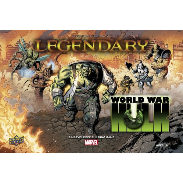 LEGENDARY: A MARVEL DECK BUILDING GAME - WORLD WAR HULK