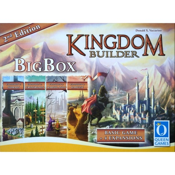 KINGDOM BUILDER: BIG BOX - 2nd EDITION