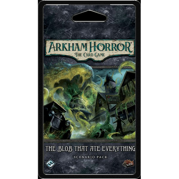 ARKHAM HORROR: THE CARD GAME - THE BLOB THAT ATE EVERYTHING - SCENARIO PACK