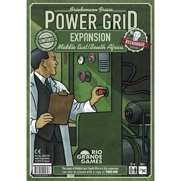 POWER GRID: MIDDLE EAST/AFRICA