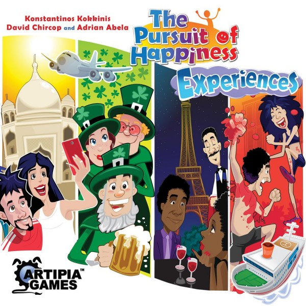 THE PURSUIT OF HAPPINESS - EXPERIENCES