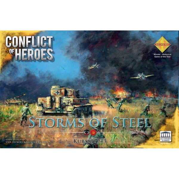 CONFLICT OF HEROES: STORMS OF STEEL - KURSK 1943 - 3rd EDITION