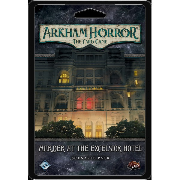 ARKHAM HORROR: THE CARD GAME - MURDER AT THE EXCELSIOR HOTEL - SCENARIO PACK