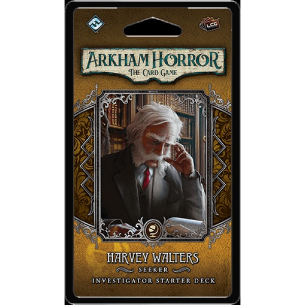 ARKHAM HORROR: THE CARD GAME - HARVEY WALTERS - INVESTIGATORS DECK