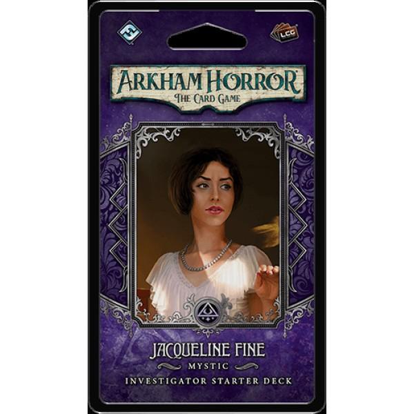 ARKHAM HORROR: THE CARD GAME - JACQUELINE FINE - INVESTIGATORS DECK