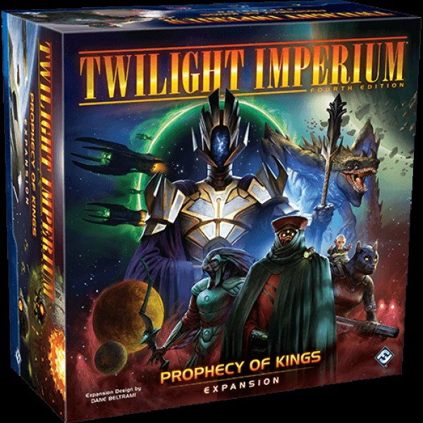 TWILIGHT IMPERIUM (4TH EDITION) - PROPHECY OF KINGS