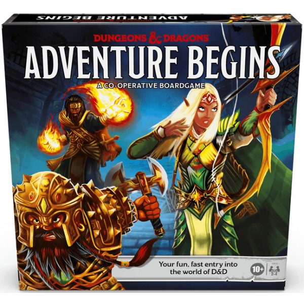 DUNGEONS AND DRAGONS: ADVENTURE BEGINS