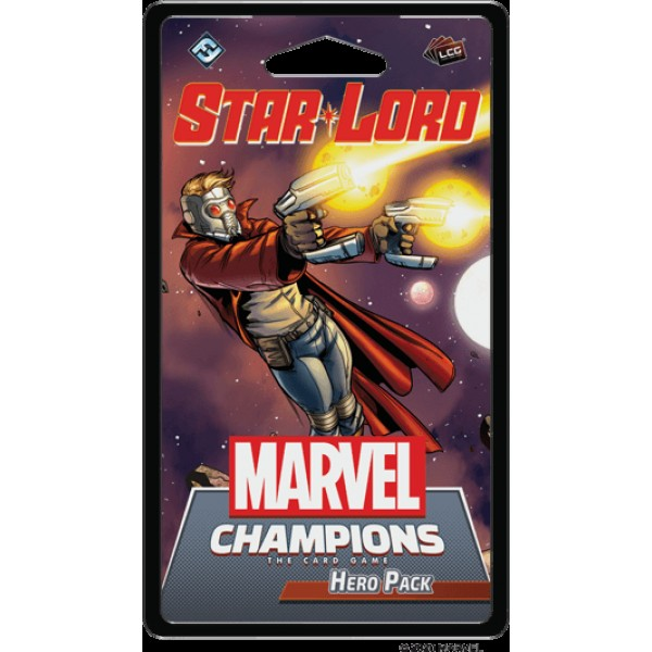 MARVEL CHAMPIONS: THE CARD GAME - STAR-LORD - HERO PACK