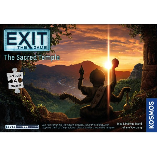 EXIT: THE GAME + PUZZLE - THE SACRED TEMPLE