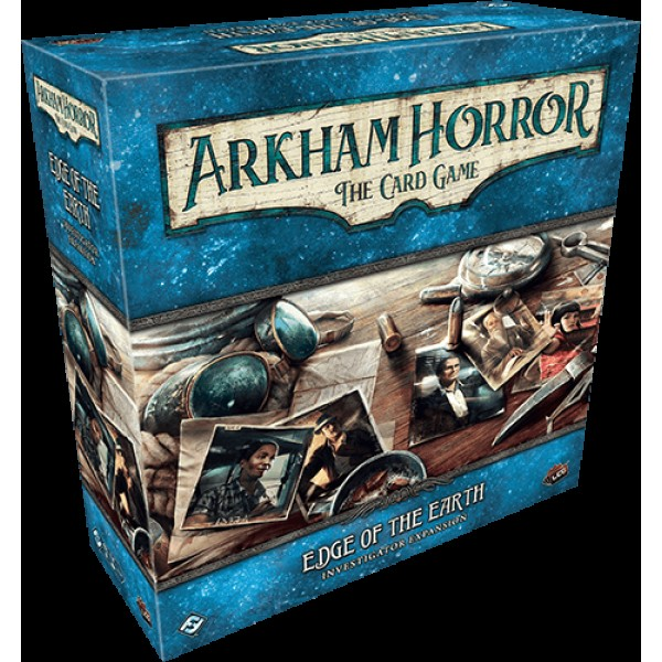 ARKHAM HORROR: THE CARD GAME - EDGE OF THE EARTH: INVESTIGATORS EXPANSION