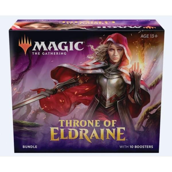 MAGIC THE GATHERING - THRONE OF ELDRAINE - BUNDLE