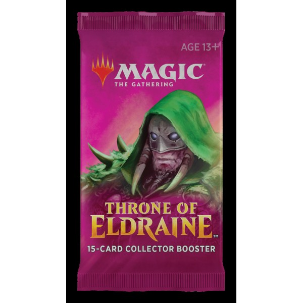 MAGIC THE GATHERING - THRONE OF ELDRAINE - COLLECTOR BOOSTER