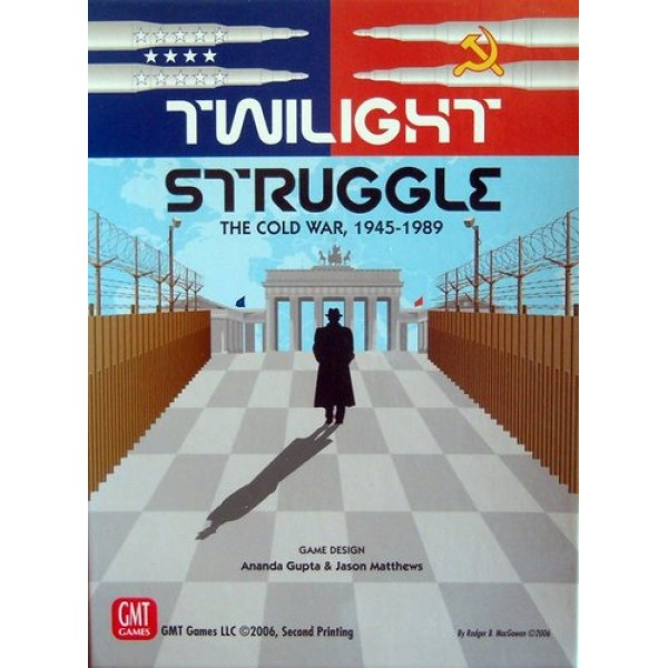 TWILIGHT STRUGGLE DELUXE EDITION - 7th PRINTING