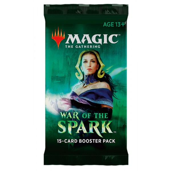 MAGIC THE GATHERING - WAR OF THE SPARK - BOOSTER