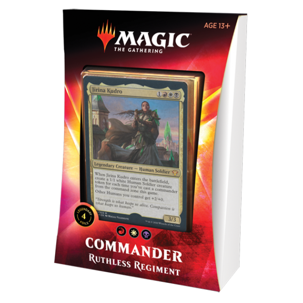 MAGIC THE GATHERING - IKORIA: LAIR OF BEHEMOTHS COMMANDER - RUTHLESS REGIMENT
